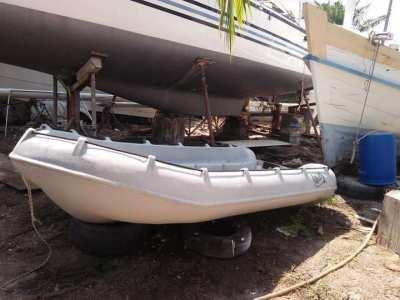 Whaly 3.7 meter HDPE RIB tender