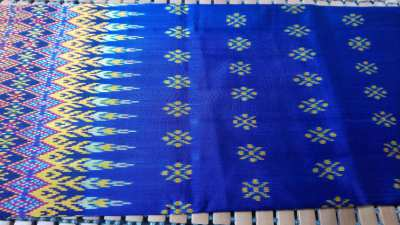Mudmee Sarong Real Thai Silk from Surin 100% Handmade