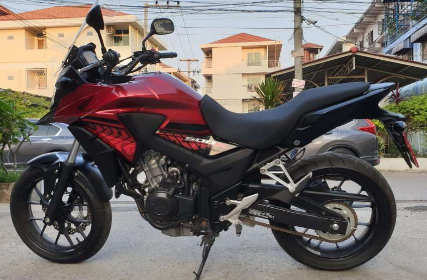 HONDA CB-500 X    EXCELLENT CONDITION = only 150,000 baht