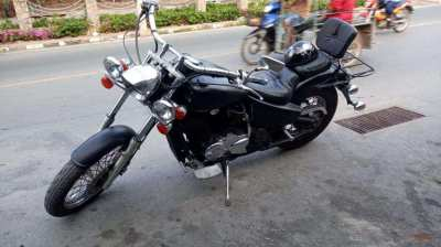 Honda Steed 600 cc WITH GREEN BOOK AND TAX PAYED FOR 2020, หนังสือสีเข