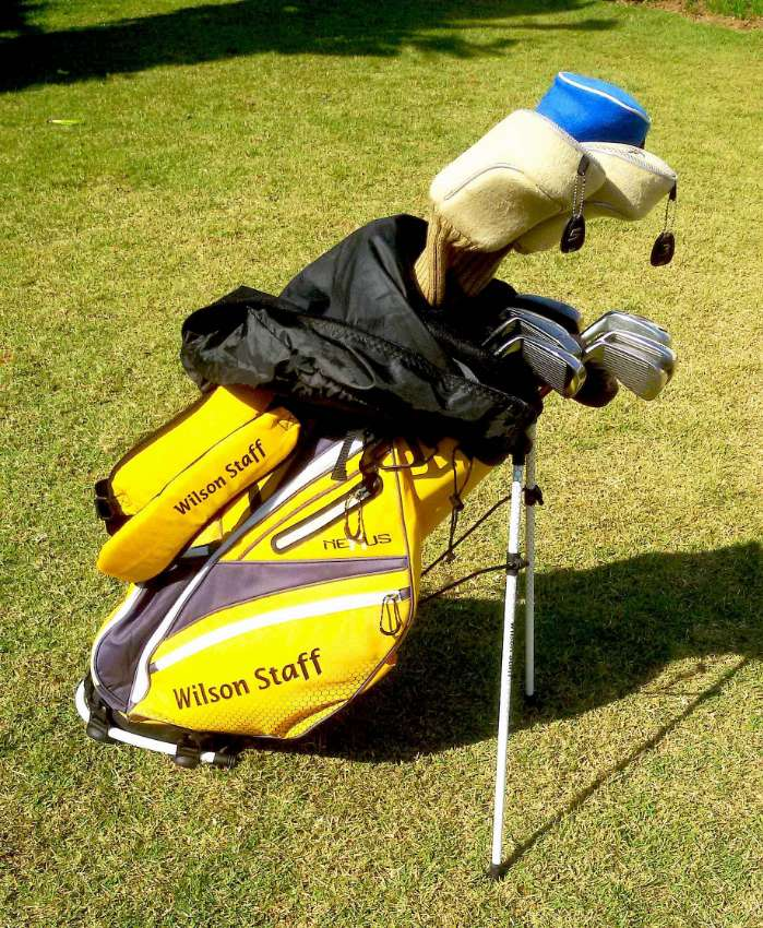 Ladies Wilson Prostaff golf club set / สุภาพสตรี Wilson Prostaff ชุดก