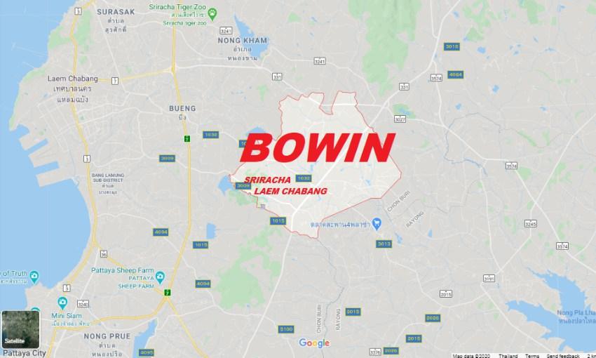 Rent House at Bowin or Buy House at Bowin near Sriracha Laemchabang