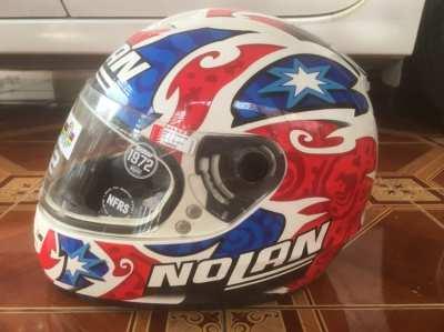 Nolan helmet. Signed Casey Stoner Replica