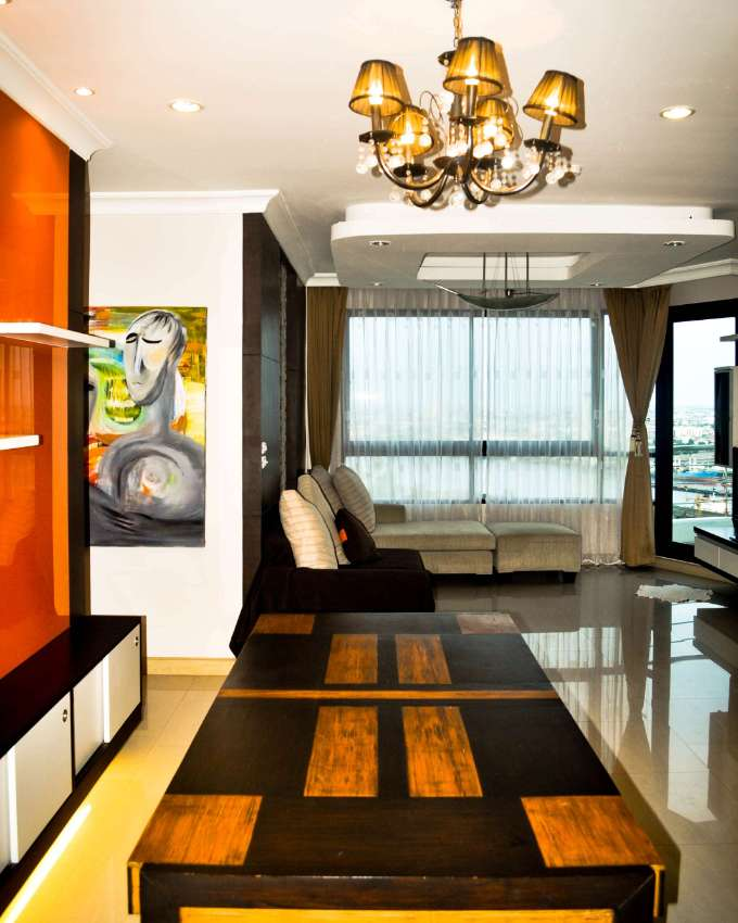 Superb 2 BR high floor Condo with River/City views for Rent in Bangkok
