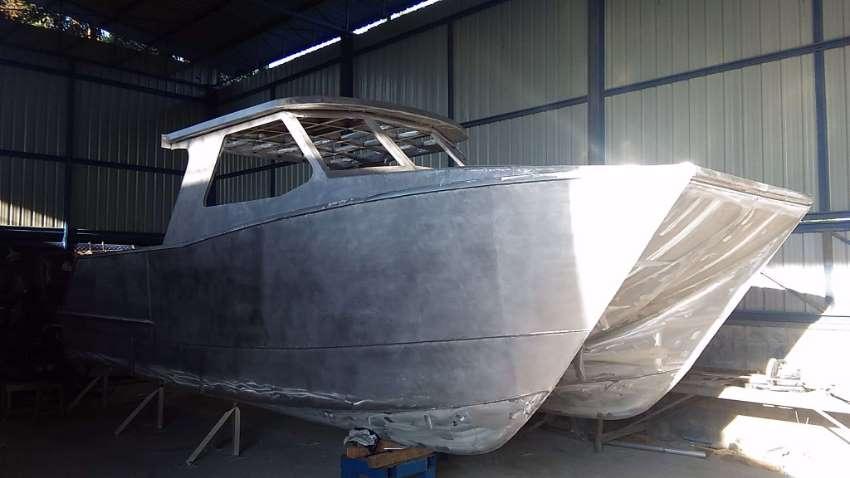 9M Aluminum Power Catamaran