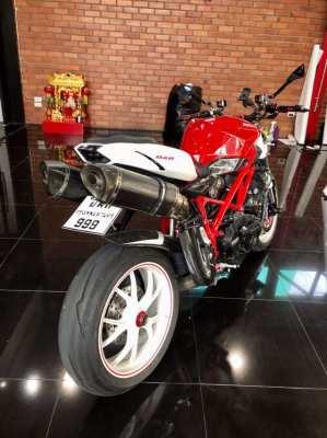 Ducati Streetfighter 848cc - Plate 999(BKK) -Fully Custom -14,OOOKM