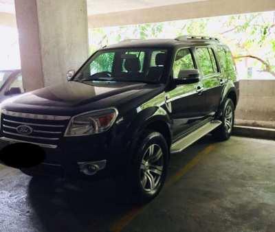 Top condition, Untouched, Ford Everest 3 litre, 4x4 Black