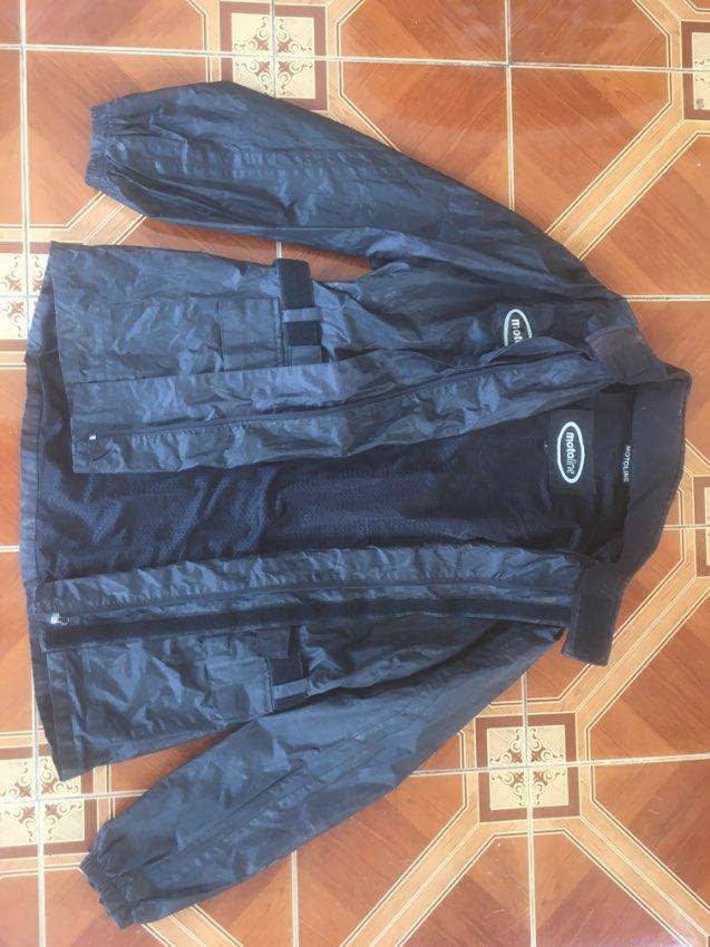 Jacket Motoline Waterproof LG with cloth lining.