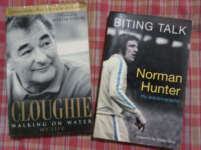 Football stories - Cloughie and Norman Hunter