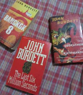 John Burdett - 3 x Bangkok based detective novels