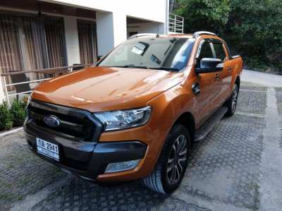 Ford Ranger Wild Track 2016 Low mile