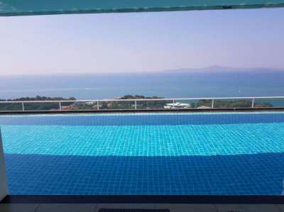 2 room luxury condo , The View Cozy Beach, South Pattaya, FOR RENT