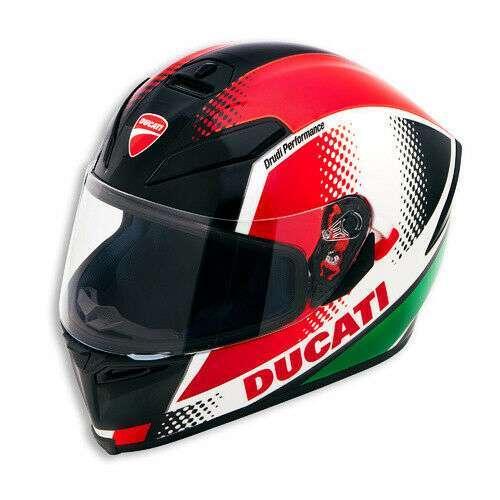 NEW Motorcycle Ducati Genuine AGV Peak V3 Helmet