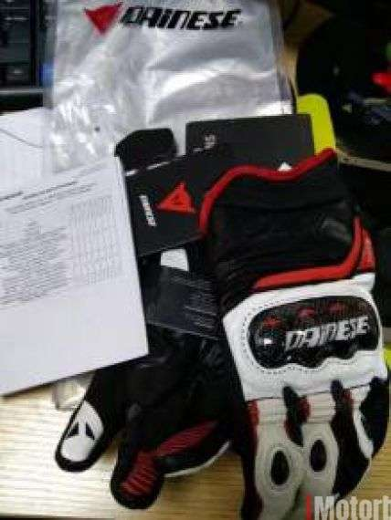Dainese Carbon D1 Leather Gloves Size M