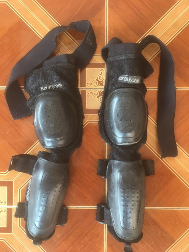 Elbow & Forearm Guards. Six Six One brand
