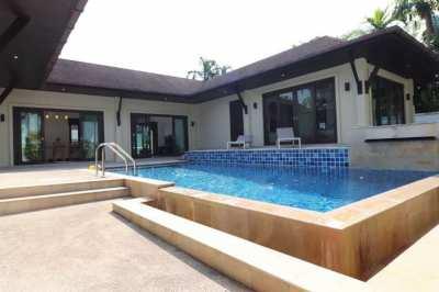Three Bedroom Pool Villa for rent near Laguna