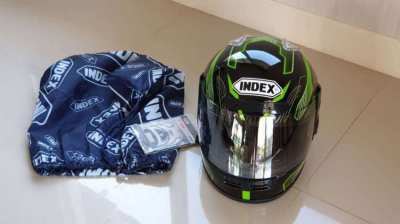 New Helmet Index full face 100 Authentic