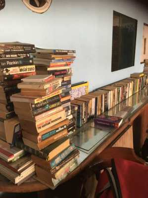 large amount of book for sale