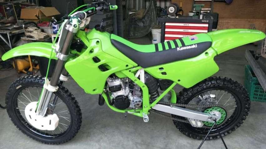 KAWASAKI - KX 125 - MOTOCROSS - DIRT BIKE - NICE EXAMPLE - EXPAT OWNED