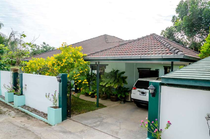 House for sale in the quiet, rural area of Ban Nong Yai, Khao Kalok