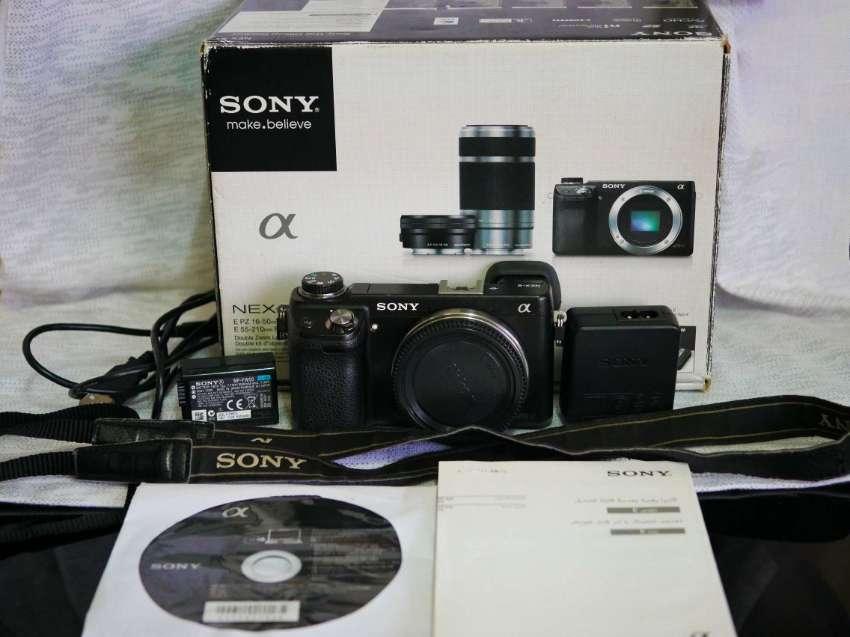 Sony NEX-6 Wi-Fi Camera Black Body in Box