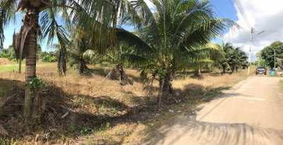 Land for sale! Size 400 Sqm. Price 900,000 THB. Close to the beach.