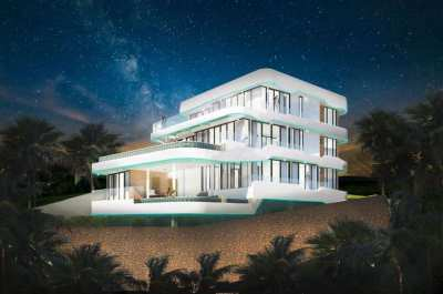New 6 bedroom luxury villa 1000 sqm under construction