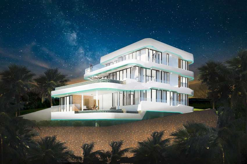 New 5 bedroom luxury villa 962 sqm under construction