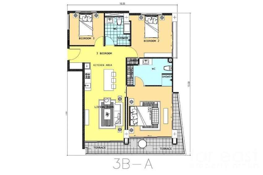 Wongamat 3 Bedroom - Direct Beach Access