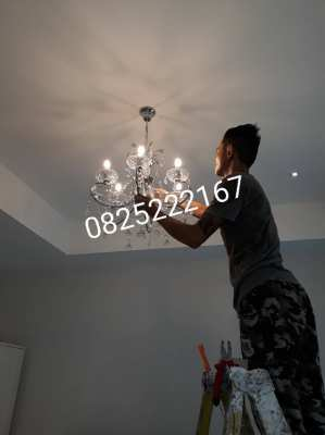 Get a house wiring. Installing lamps, lamps and electrical equipment 0825222167 Mechanic
