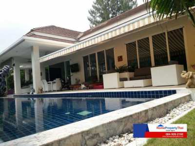 Stunning large Pool Villa for Sale Hua Hin Only 9,500,000 Thai Baht ????