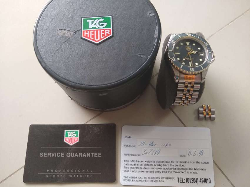 Tag Heuer 1000 Series Professional Submariner 980020 Mens Quartz Watch