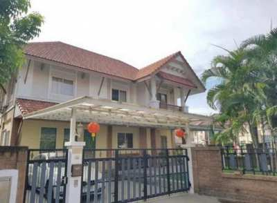 FOR RENT SIAM NATURAL HOME RAMA 2 / 3 beds 3 baths / **25,000**