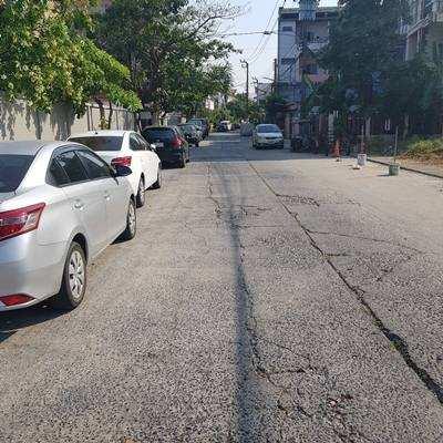 Land reclamation and rent on Nawamin road. Bangkok