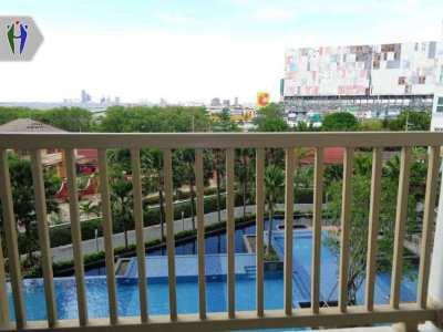 Condo for Rent  South Pattaya 9,000 baht There is bath bus