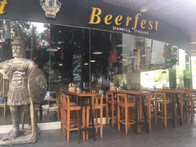 BEERFEST BREWERY&RESTAURANT FOR SALE IN PATTAYA