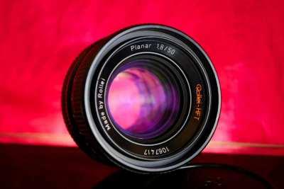 Rollei Planar HFT 50mm f1.8 Prime Lens