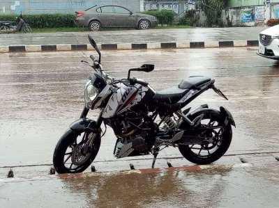 KTM 200cc Motorbike