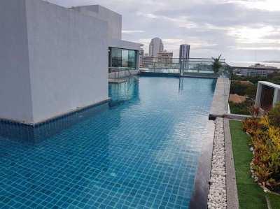 Studio Condo for sale in Water park - Pratumnak -Pattaya