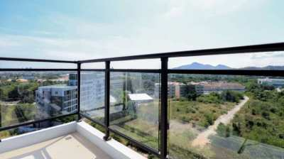 Very large 2 bedroom condo with a stunning 180 degree view in Hua Hin