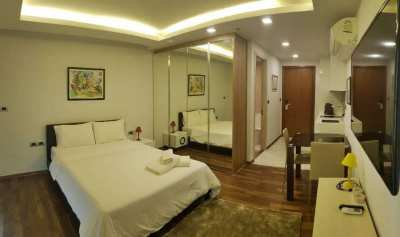 The Peak Tower (A) Nice Studio for Rent at 9000 Baht/per month