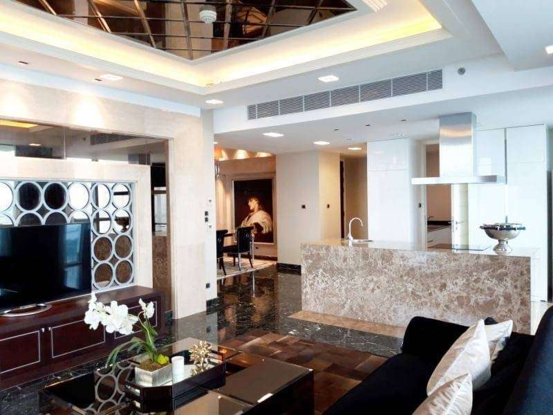 For rent The pano rama3  Area 134 sqm , 2 beds 2 baths, on 30 floor