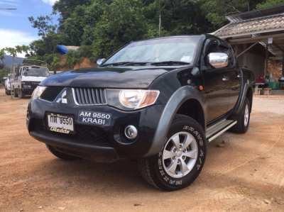 Mitsubishi Triton 2,5 Double cab, low mileage & excellent condition