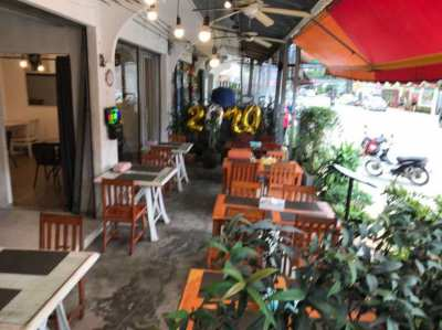 RESTAURANT FOR SALE  FISHERMAN VILLAGE BOPHUT SAMUI with an apartment
