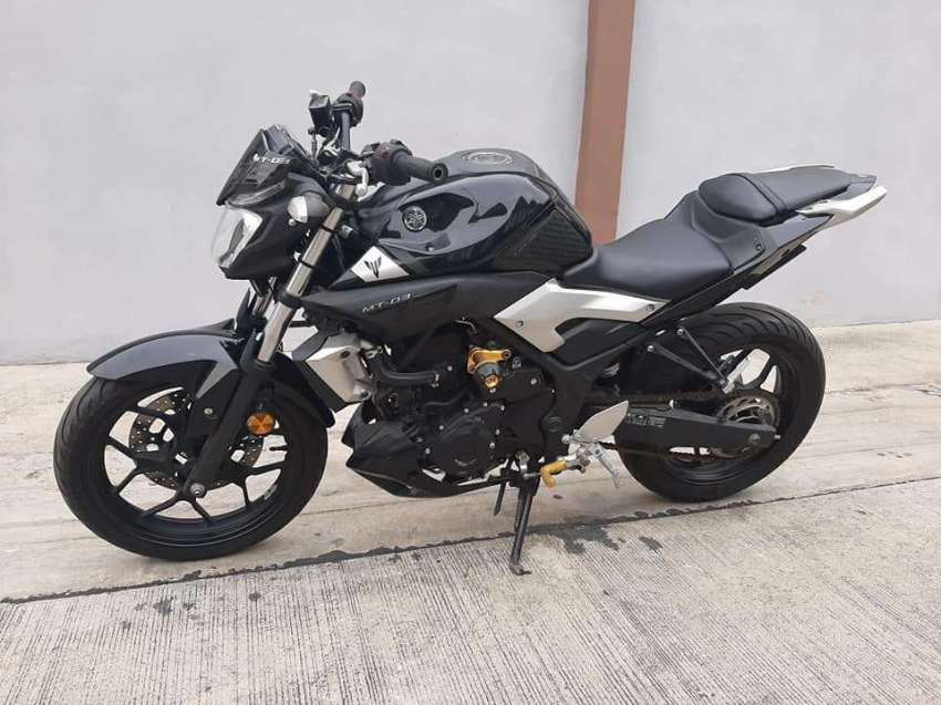Yamaha MT03 ABS ( one owner - low km )