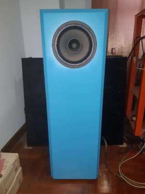 Pair Hemp FR8C Fullrange Speaker in Aperto Cabinets for Sale