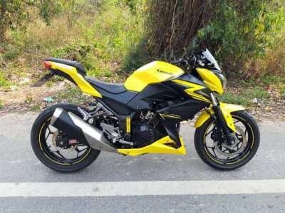 Kawasaki Z300 ABS only 6100km
