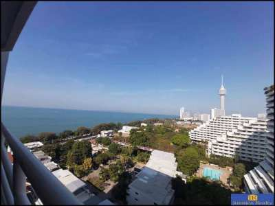 Sea View Studio on High Floor-Beach  Access For Sale at View Talay 5C