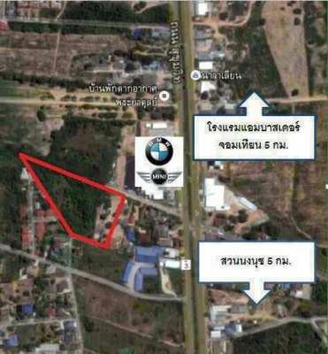 Land For Sale in Sukhumvit Bangsaray Pattaya