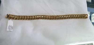 18ct 18k gold bracelet  46grams